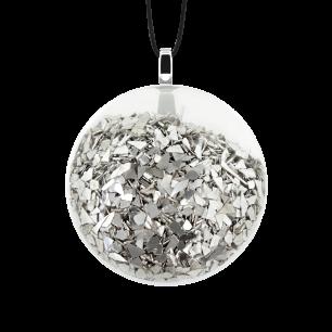 Kettenanhänger - Galet Mini Paillettes Silber