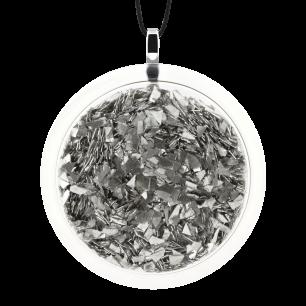Kettenanhänger - Cachou Giga Paillettes Silber