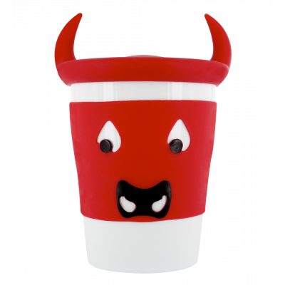 Mug and lid - Trophy Mug Bull