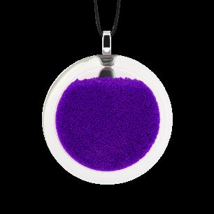 Kettenanhänger - Cachou Medium Billes Violett