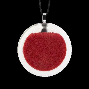 Kettenanhänger - Cachou Medium Billes Rot