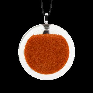 Kettenanhänger - Cachou Medium Billes Orange
