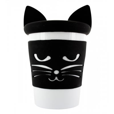 Mug and lid - Trophy Mug Cat