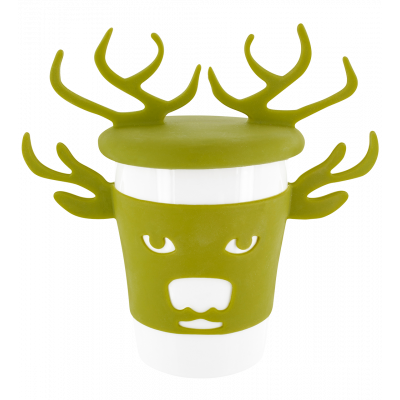 Mug and lid - Trophy Mug Deer