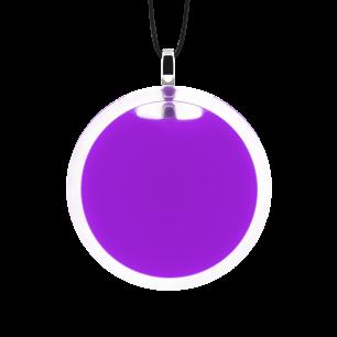 Necklace - Cachou Medium Milk Purple