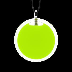 Necklace - Cachou Medium Milk Light Green
