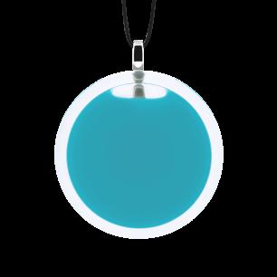 Necklace - Cachou Medium Milk Turquoise
