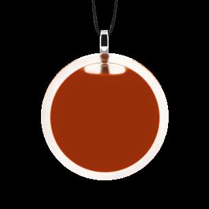 Necklace - Cachou Medium Milk Rust