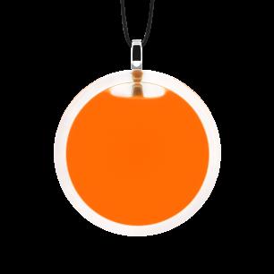 Necklace - Cachou Medium Milk Orange