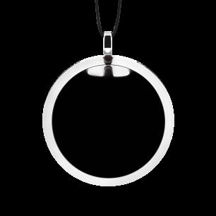 Necklace - Cachou Medium Milk Black