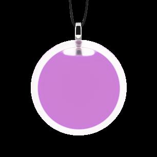 Necklace - Cachou Medium Milk Lilas