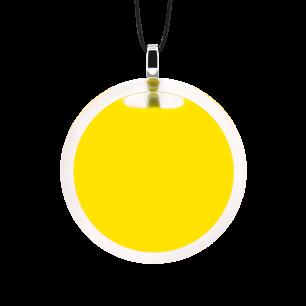 Necklace - Cachou Medium Milk Yellow