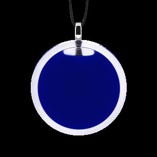 Necklace - Cachou Medium Milk Dark Blue