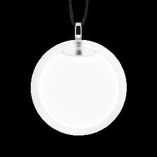 Necklace - Cachou Medium Milk White