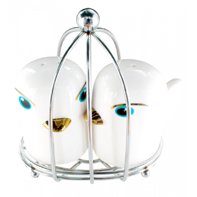 Salt and Pepper shaker - Tweet Tweet White