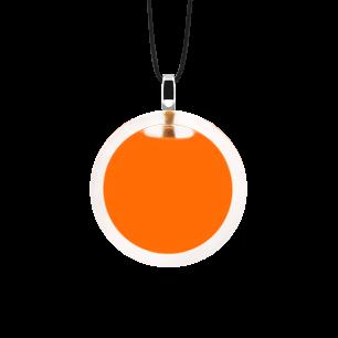 Kettenanhänger - Cachou Mini Milk Orange