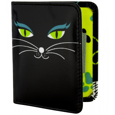 Card holder - CH. Voyage Black Cat
