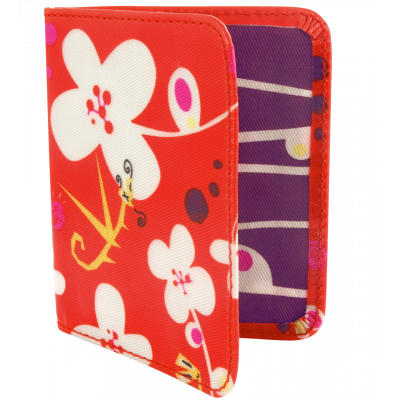 Card holder - Voyage White Flower