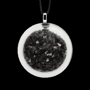 Necklace - Cachou Medium Paillettes Black