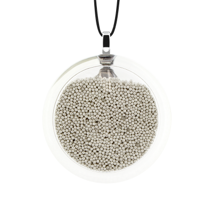 Kettenanhänger - Cachou Medium Billes Silber