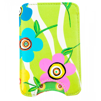 Etui pour petit smartphone - Voyage Green Spring