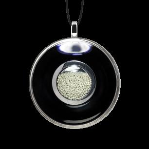 Necklace - Duo Medium Black / Silver