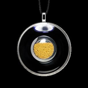 Necklace - Duo Medium Black / Gold