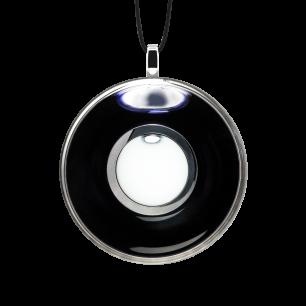 Necklace - Duo Medium Black / White