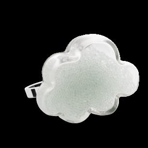 Glasring - Nuage Medium Billes Kristall