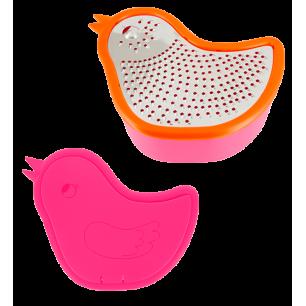 Zozio - Scatola grattugia Arancione