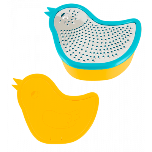 Zozio - Scatola grattugia Blu