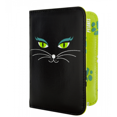 Passport holder - Voyage Black Cat