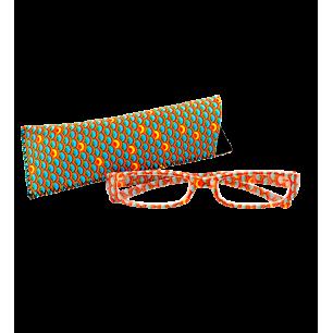 Lunettes X3 Ecailles Bleues - Corrective glasses 250