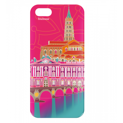 Case for iPhone 5/5S - I Cover 5 Toulouse