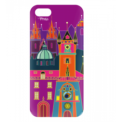 Case for iPhone 5/5S - I Cover 5 Praha