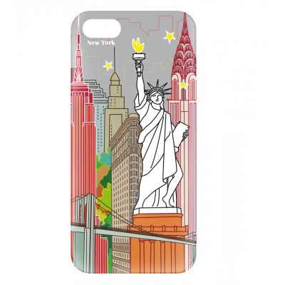 Case for iPhone 5/5S - I Cover 5 New-York