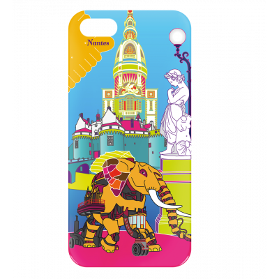 Case for iPhone 5/5S - I Cover 5 Nantes