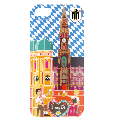 I Cover 5 - Coque pour iPhone 5/5S München