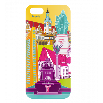 Case for iPhone 5/5S - I Cover 5 Leipzig