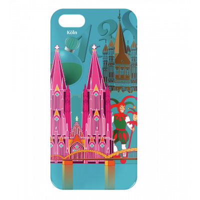 Case for iPhone 5/5S - I Cover 5 Köln