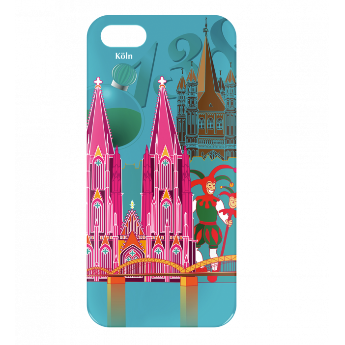 ROMA COVER IPHONE 5-5S IN PELLE