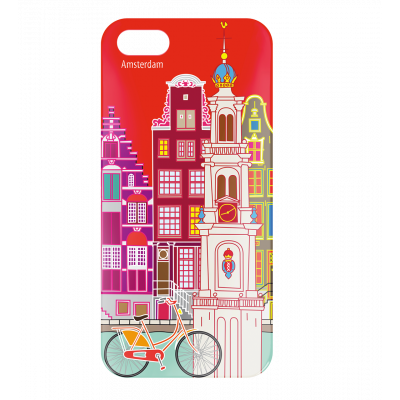 Case for iPhone 5/5S - I Cover 5 Amsterdam