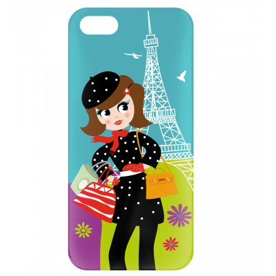 Cover per iPhone 5/5S - I Cover 5 Parisienne