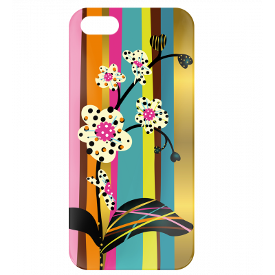 Case for iPhone 5/5S - I Cover 5 Orchid