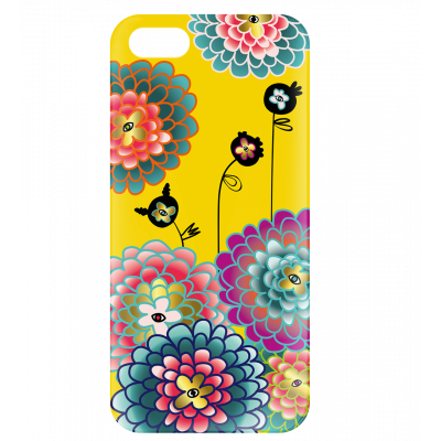 Coque pour iPhone 5/5S - I Cover 5 Dahlia