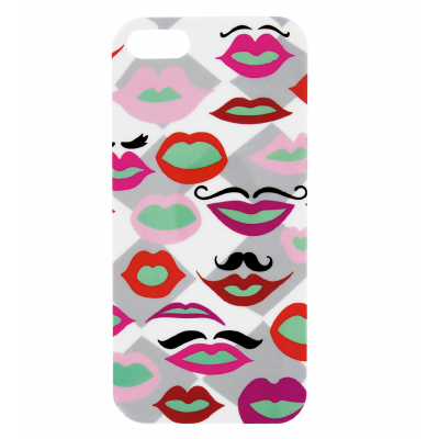 Schale für iPhone 5/5S - I Cover 5 Mouth Moustache