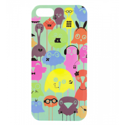I Cover 5 - Coque pour iPhone 5/5S Funny Bird