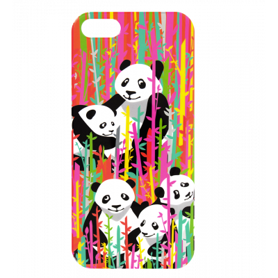 I Cover 5 - Coque pour iPhone 5/5S Bamboo
