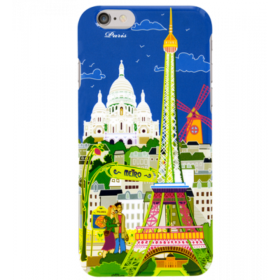 Cover per iPhone 6 - I Cover 6 Paris Bleu