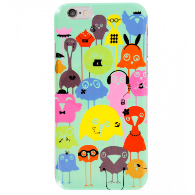 Case for iPhone 6 - I Cover 6 Funny Bird